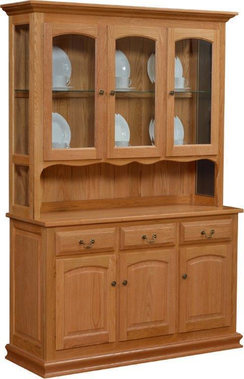 Addieville Solid Wood Hutch From Dutchcrafters Amish Furniture