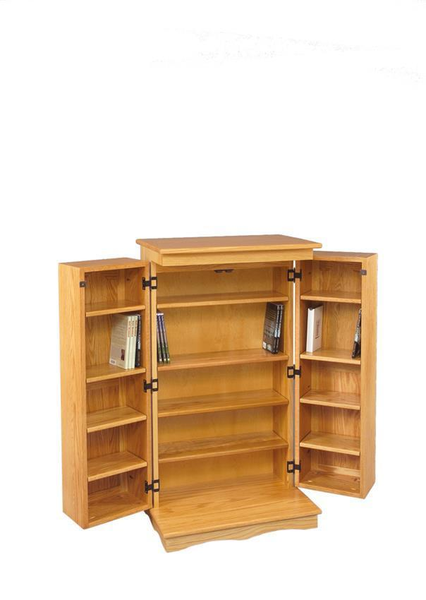 DVD Cabinet from DutchCrafters Amish Furniture