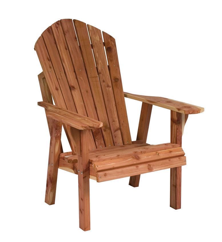 Cedar Adirondack Chair From