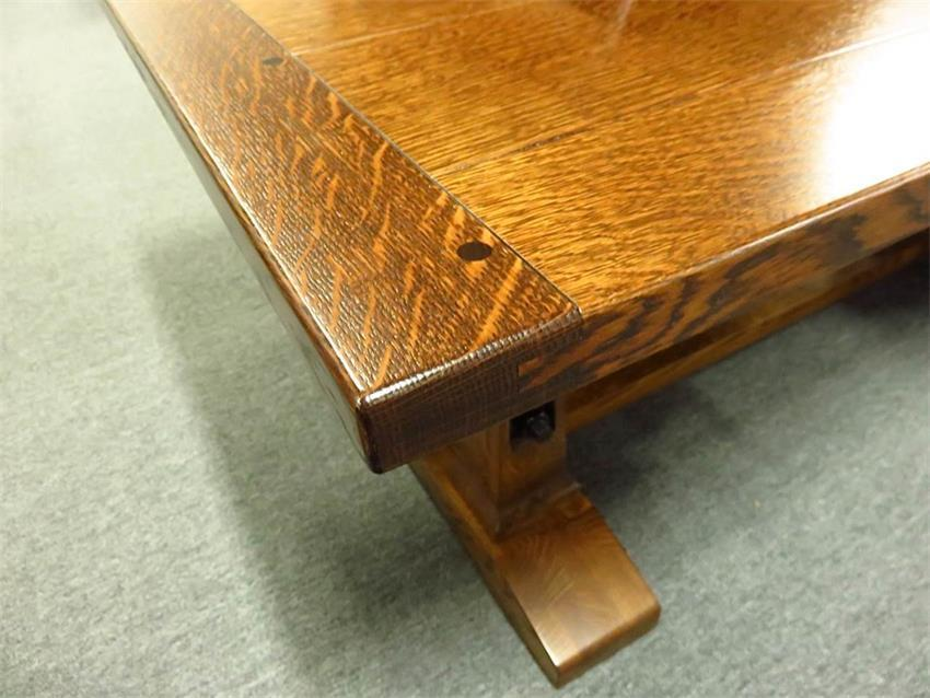 Table with Breadboard Ends