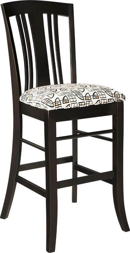 Keystone Verona Bar And Counter Chair From Dutchcrafters Amish