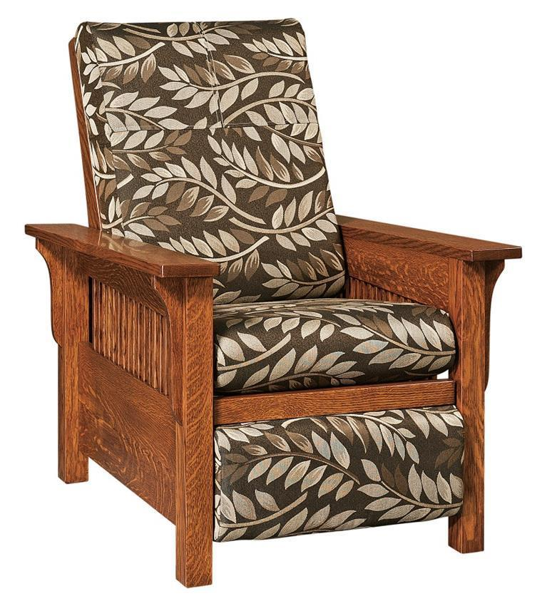 Lancaster Mission Recliner From Dutchcrafters Amish Furniture