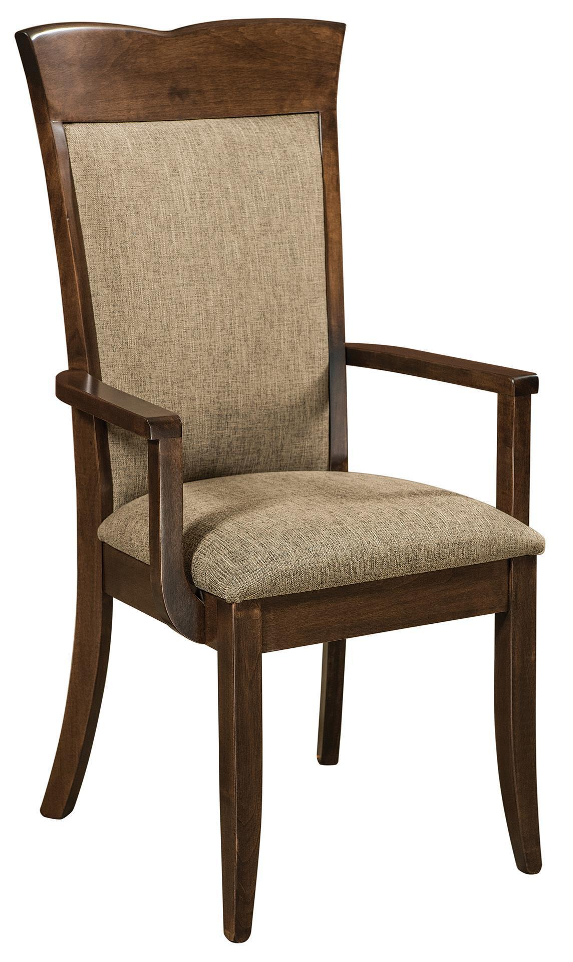 Picture of: Santa Fe Upholstered Chair From Dutchcrafters Amish Furniture Store