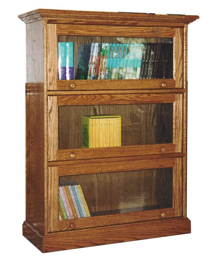 Amish Traditional Barrister Bookcase
