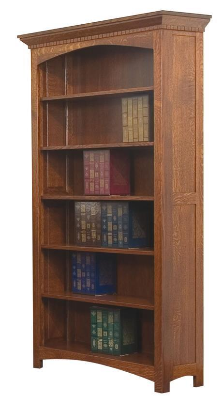 Oakwood Bookcase From Dutchcrafters Amish Furniture