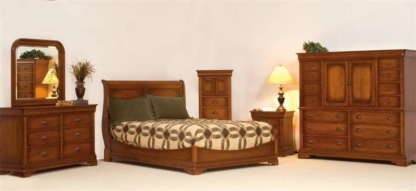 Le Chateau Five Piece Bedroom Set From Dutchcrafters Amish Furniture