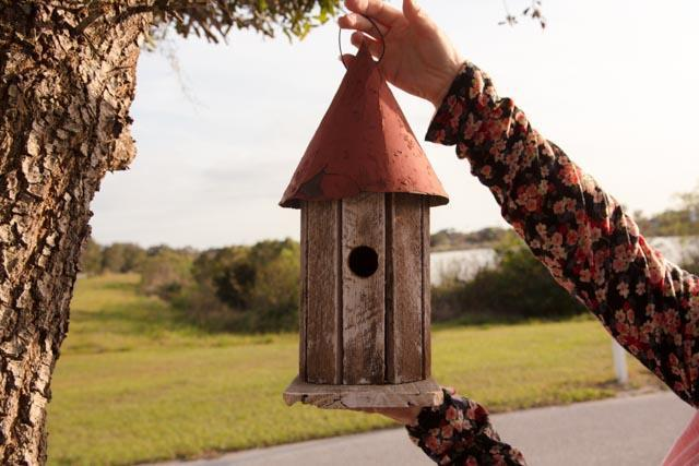 Amish Rustic Garden Wren House From Dutchcrafters Amish