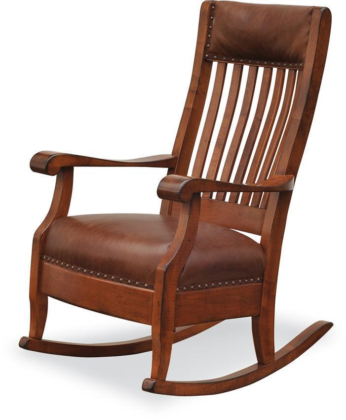 Mission Style Chairs For Sale: Rocking Chairs & Gliders By DutchCrafters Amish Furniture