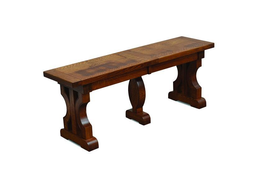 Solid Wood Barstow Extendable Bench