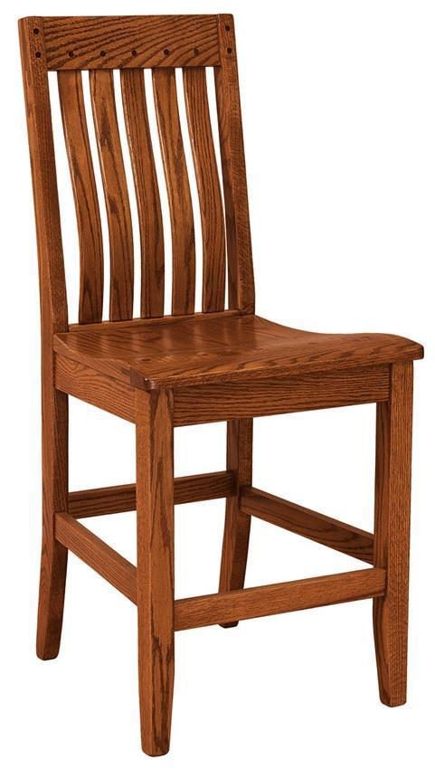 Fresno Bar Stool From Dutchcrafters Amish Furniture