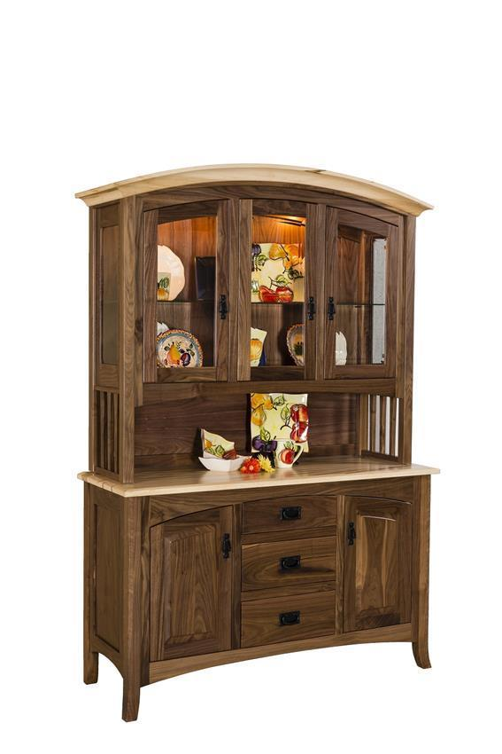 Amish Cambria Hutch From Dutchcrafters