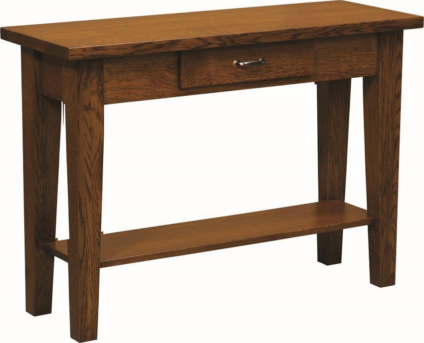 Heritage Shaker Sofa Table From Dutchcrafters Amish Furniture