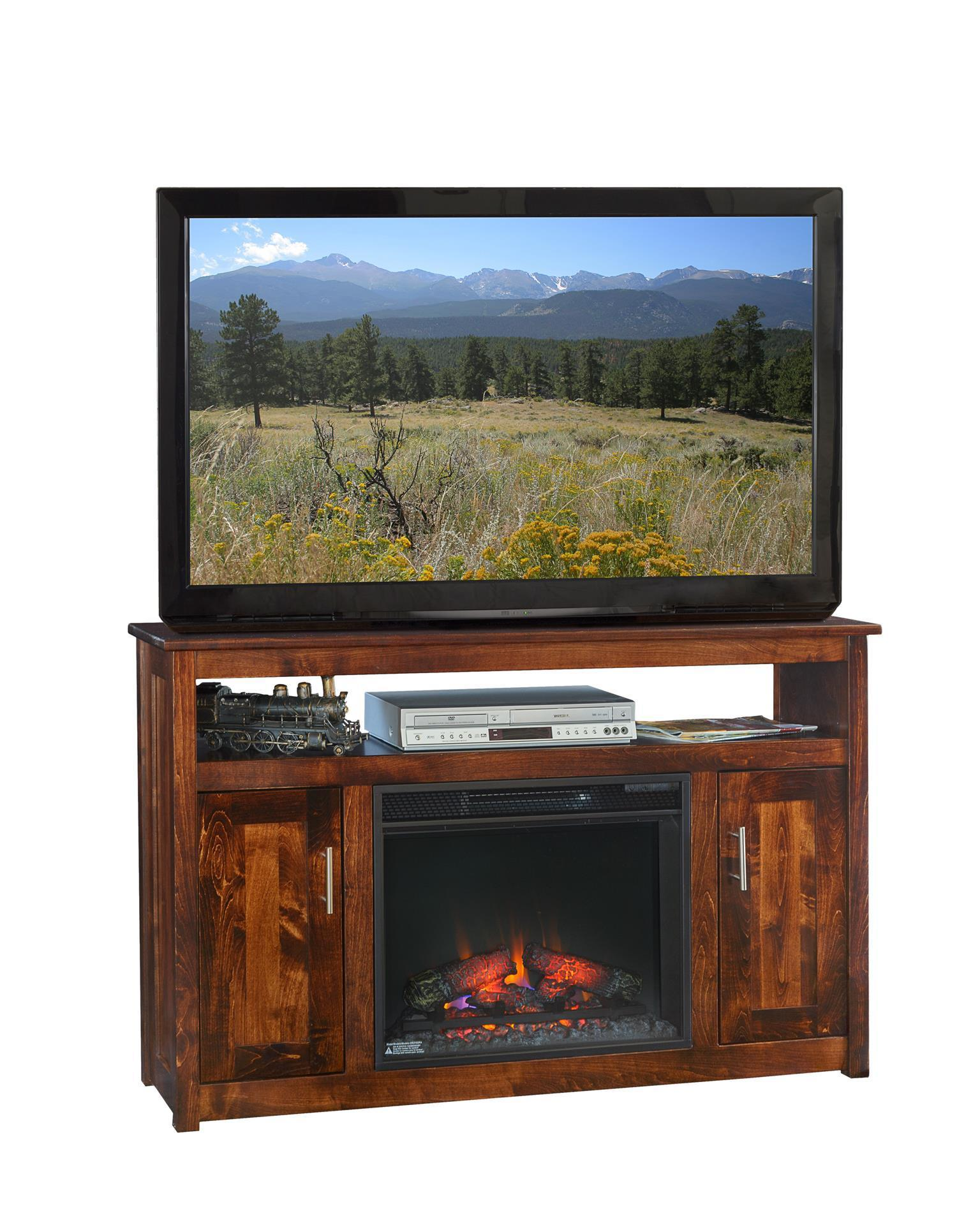 Finsbury Park 51 Fireplace Tv Stand From Dutchcrafters Amish