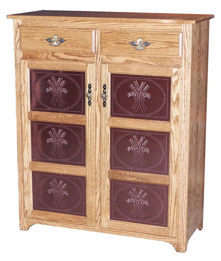 Amish Kitchen Cabinets Ohio: Traditional Pie Safe From DutchCrafters Amish Furniture