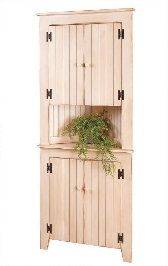 Country Style Corner Cabinet From Dutchcrafters Amish