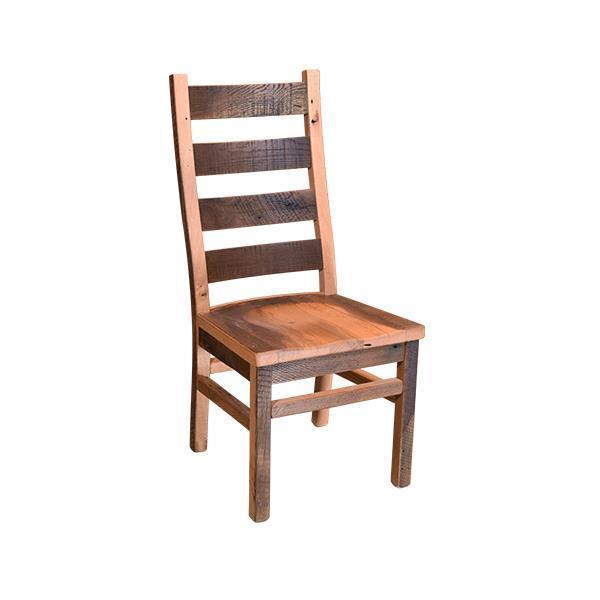 Barnwood Ladderback Dining Room Chair From Dutchcrafters Amish