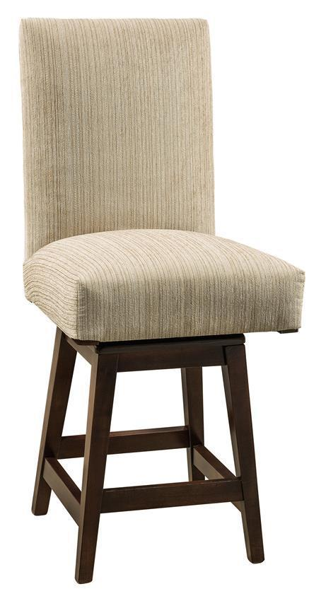 Sheldon Parsons Stool With Swivel From Dutchcrafters Amish