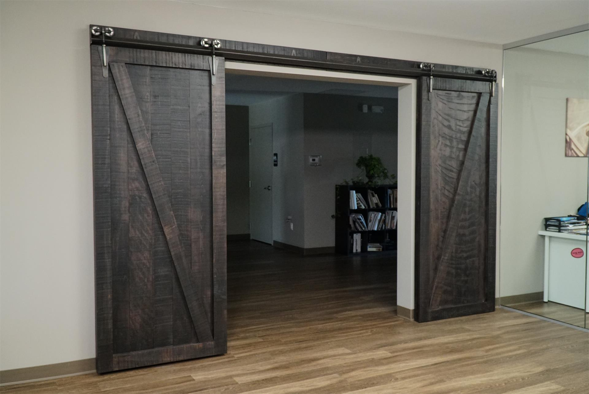 Sliding Barn Doors From Dutchcrafters Amish Furniture
