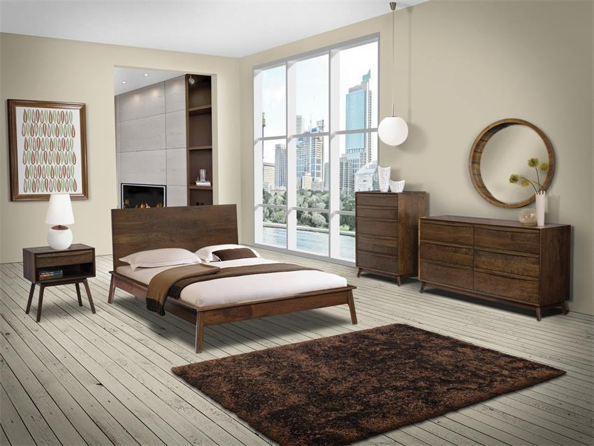 Mid Century Modern 4-Piece Bedroom Set from DutchCrafters ...