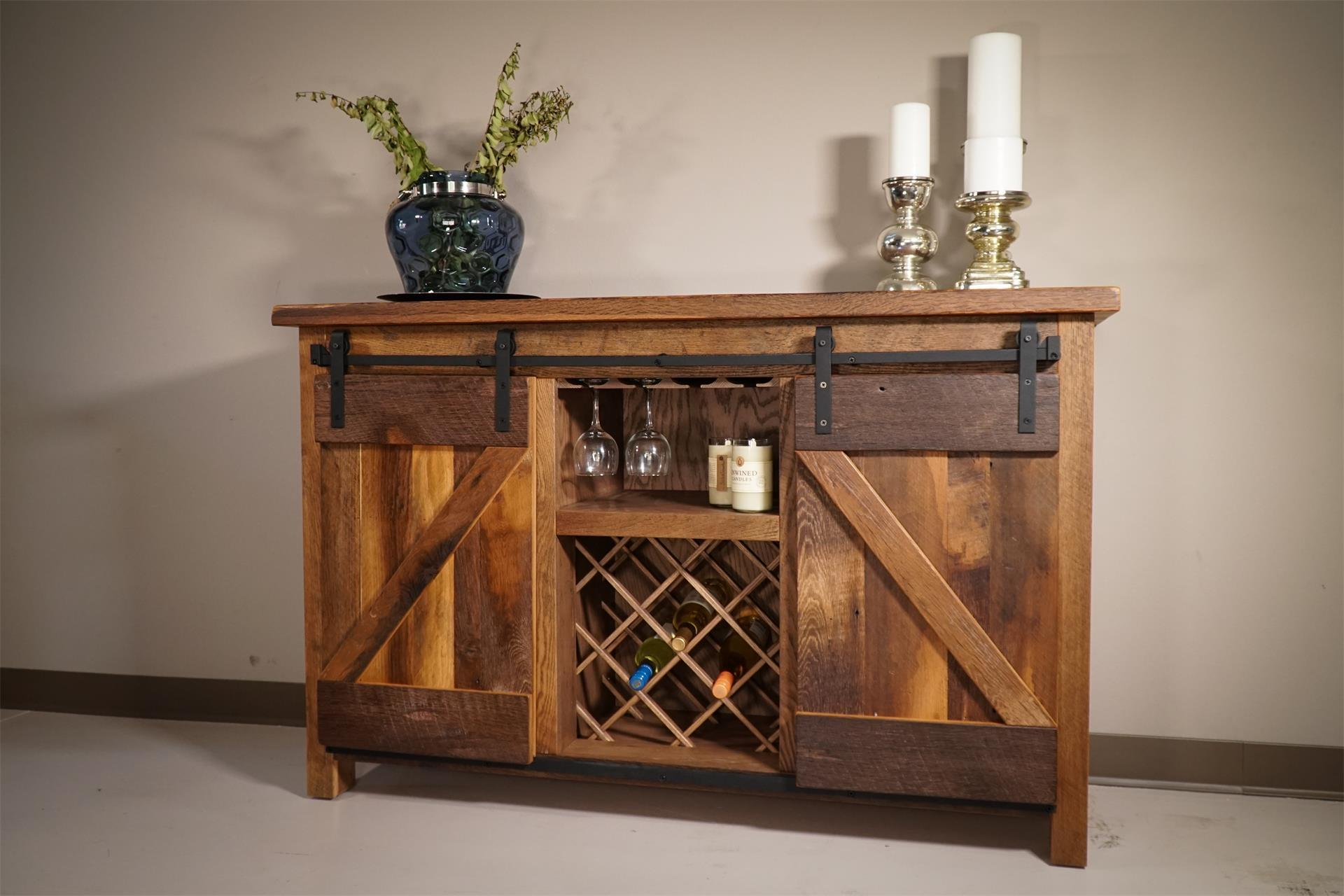 Handcrafted Amish Wine Cabinets From Dutchcrafters Amish