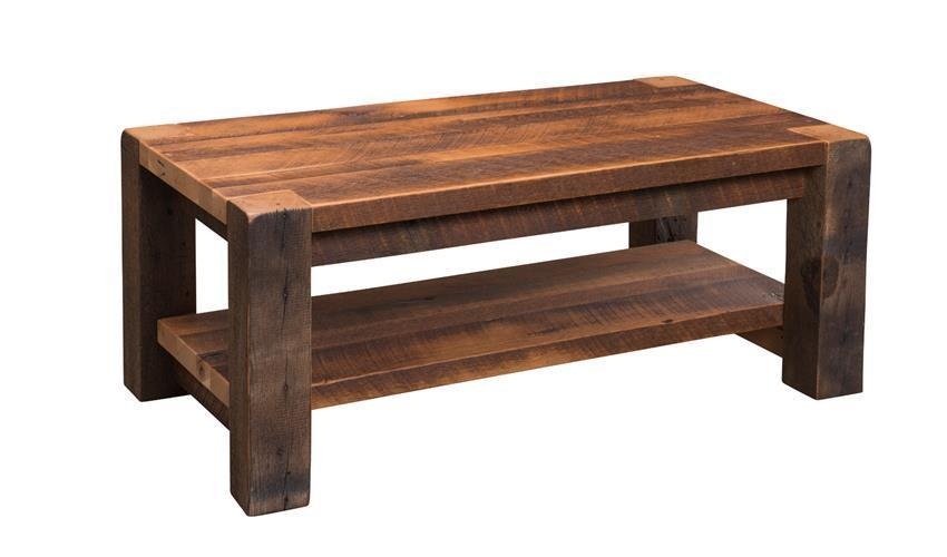 Reclaimed Timber Ridge Coffee Table From Dutchcrafters