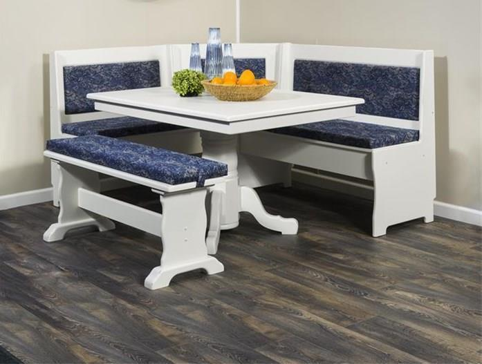 American Custom Made Traditional Breakfast Nook Set From