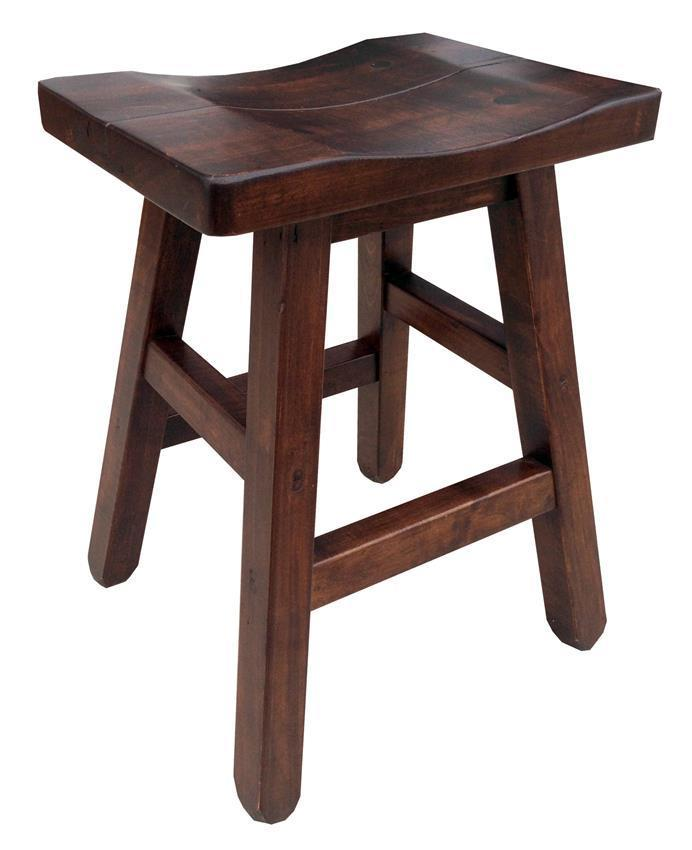 Remarkable Amish Ruff Sawn Rustic Saddle Stool With Splined Seat Theyellowbook Wood Chair Design Ideas Theyellowbookinfo