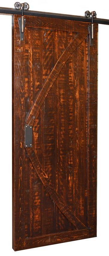 Real Sliding Barn Door From Dutchcrafters Amish Furniture