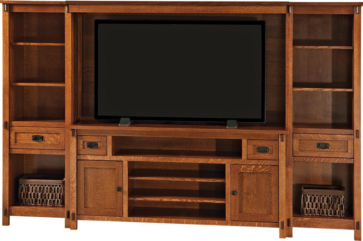 Amish Made Traditional Entertainment Centers
