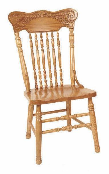 Amish Chairs And Kitchen Chairs Handcrafted In Solid Wood From