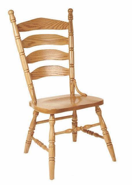 Amish Ladderback Dining Chair