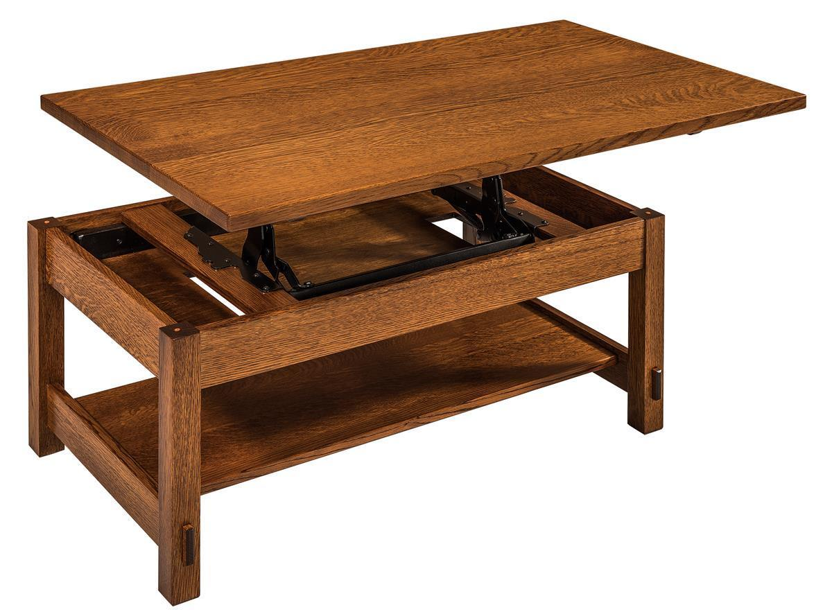 Springhill Lift Top Coffee Table From Dutchcrafters Amish