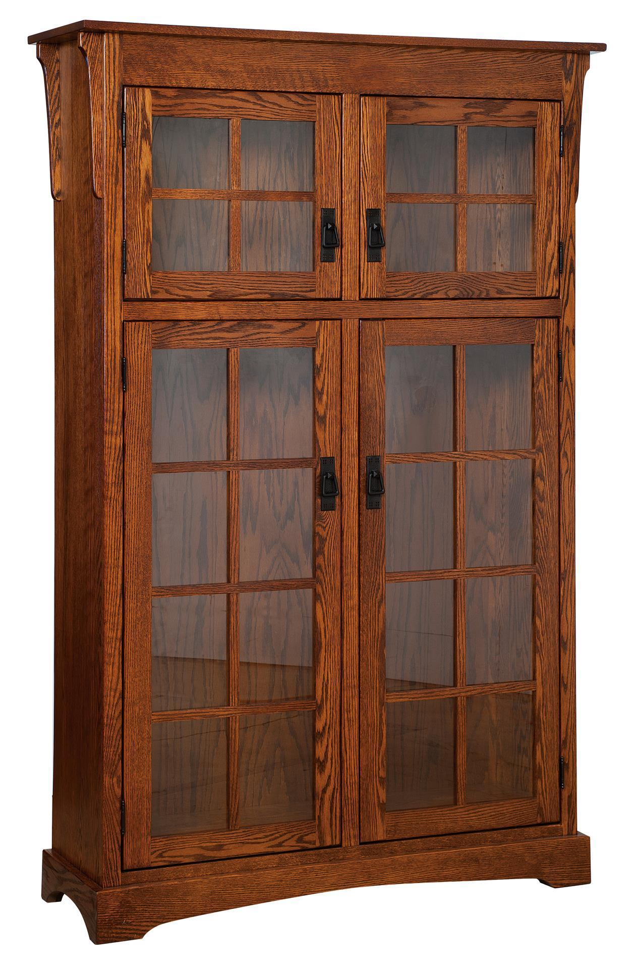 Heritage Mission Style Bookcase From Dutchcrafters Amish