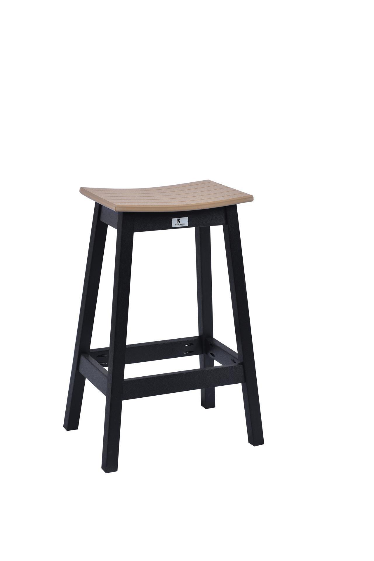 Berlin Gardens Poly Saddle Bar Stool From Dutchcrafters Amish