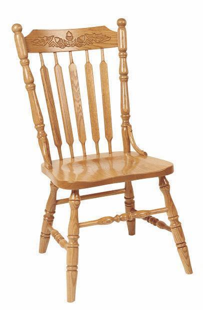 Acorn Dining Chair from DutchCrafters Amish Furniture