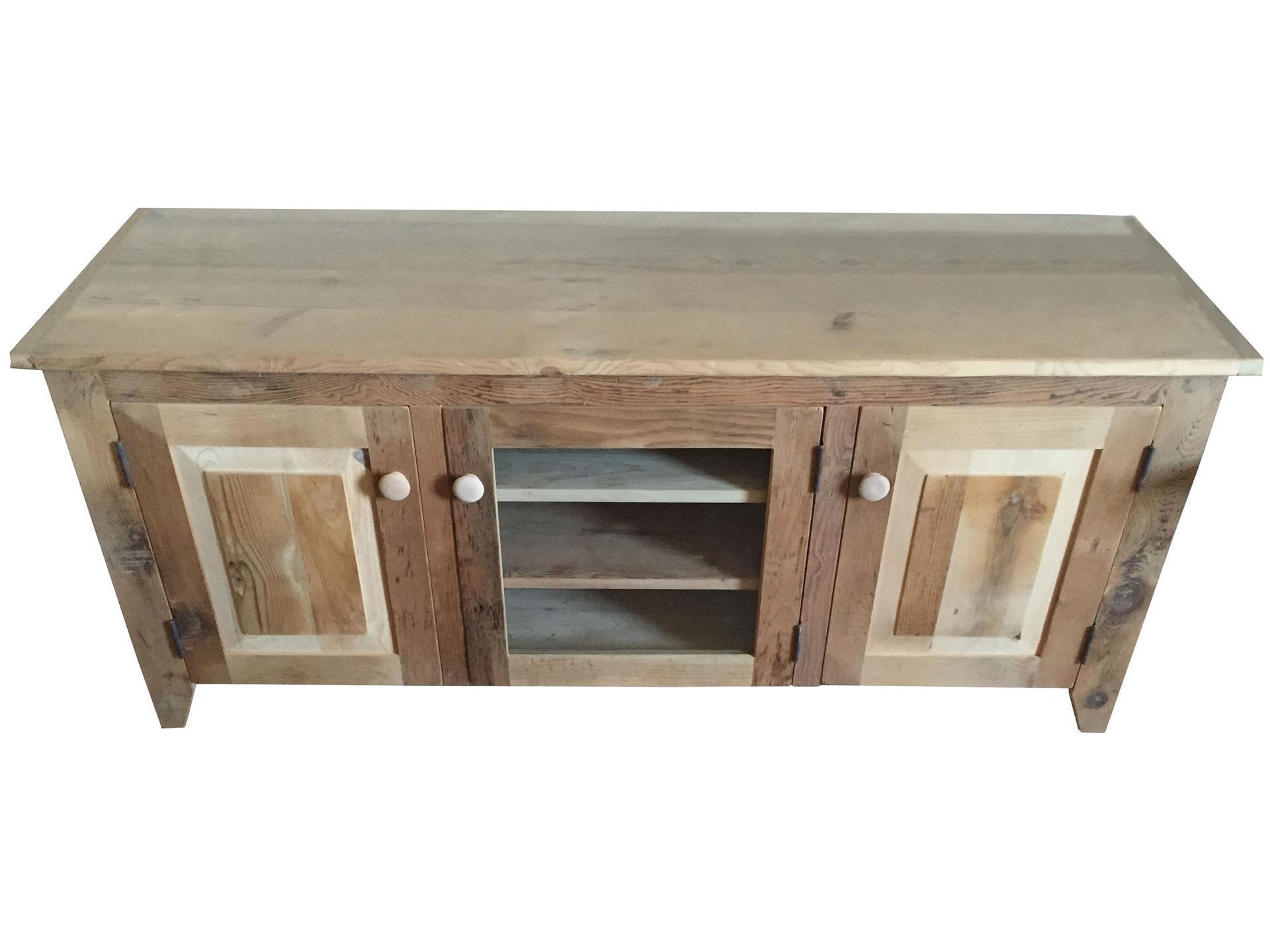 Dark Wood Tv Credenza : Living room tv stands consoles cabinets art van home