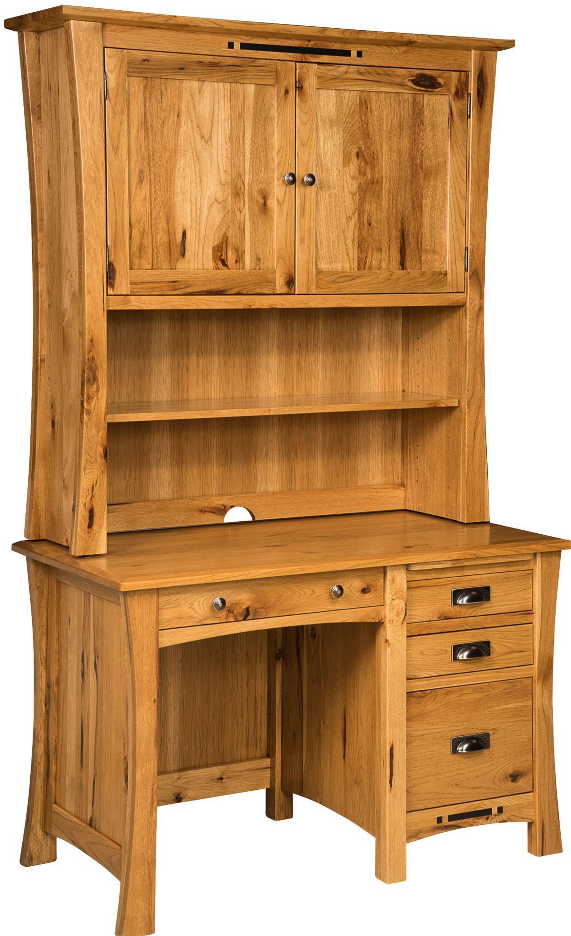 Arts And Crafts Pedestal Desk From Dutchcrafters Amish