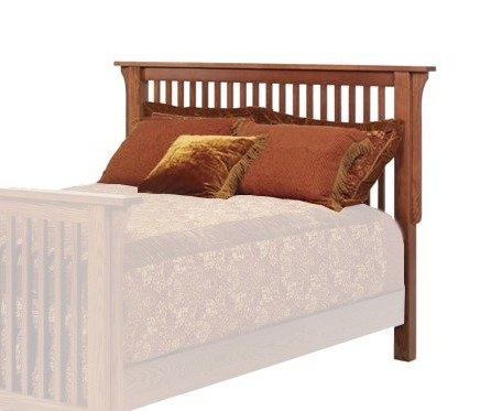 Old English Mission Slatted Headboard From Dutchcrafters Amish