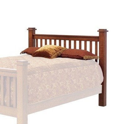 Old English Vintage Mission Headboard From Dutchcrafters Amish