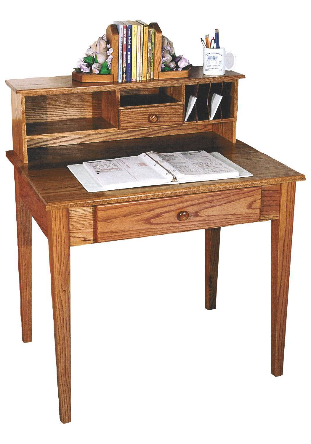 Shaker Writing Desk From Dutchcrafters Amish Furniture
