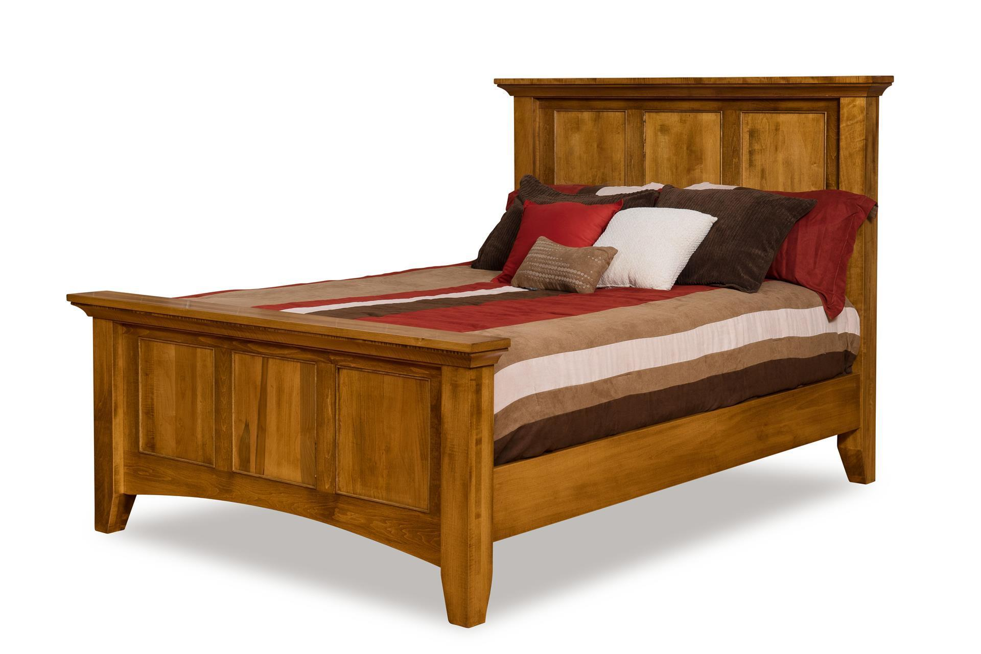 Sleep Concepts Mattress Futon Factory Amish Rustics: Legacy Mission Panel Bed From DutchCrafter Amish Furniture