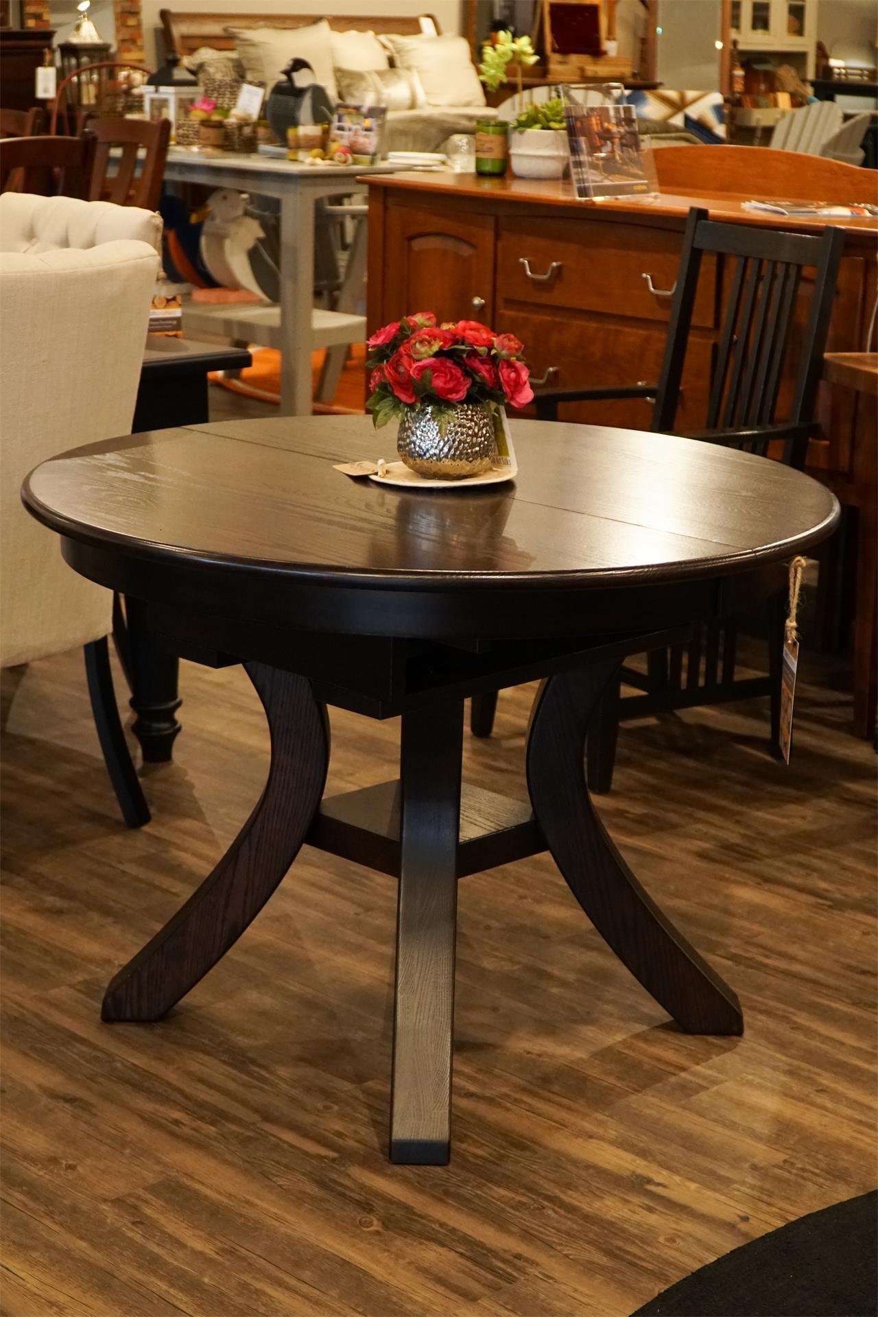 Terrific In Stock Amish Carlisle Dining Table With Butterfly Leaf Beutiful Home Inspiration Xortanetmahrainfo