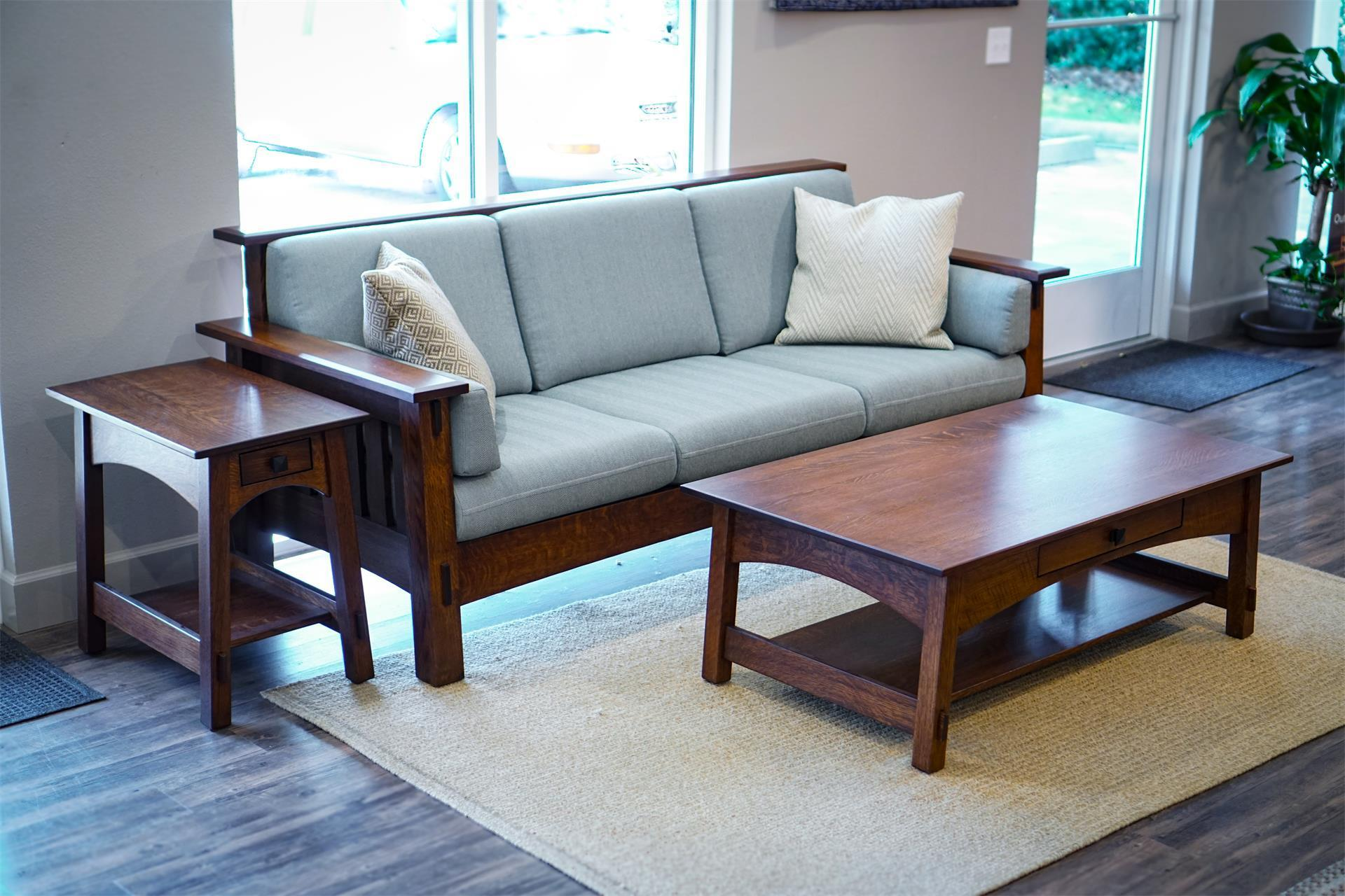 McCoy 3 Piece Living Room Set from DutchCrafters Amish Furniture