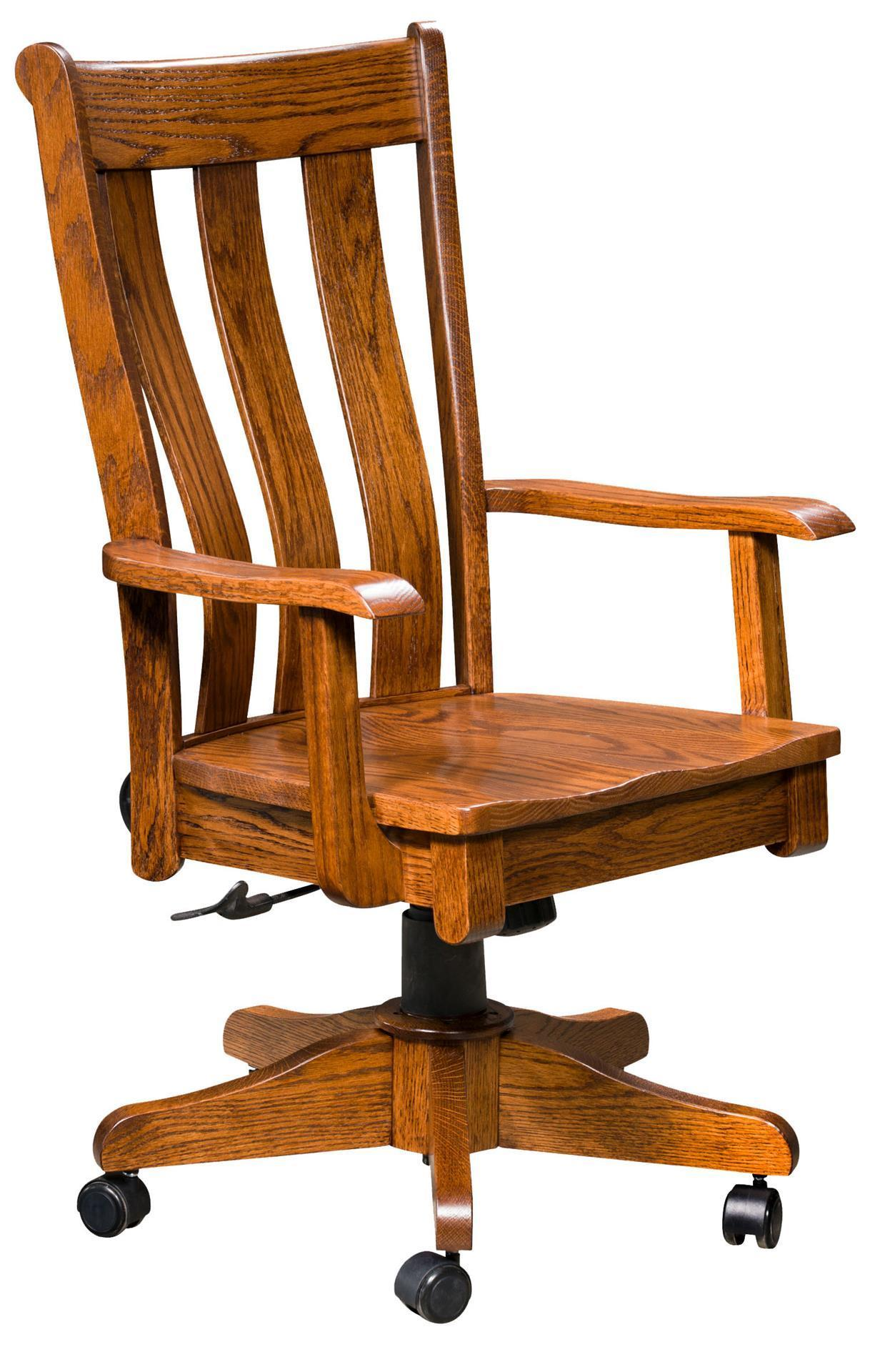 Coronado Desk Chair With Gas Lift From Dutchcrafters