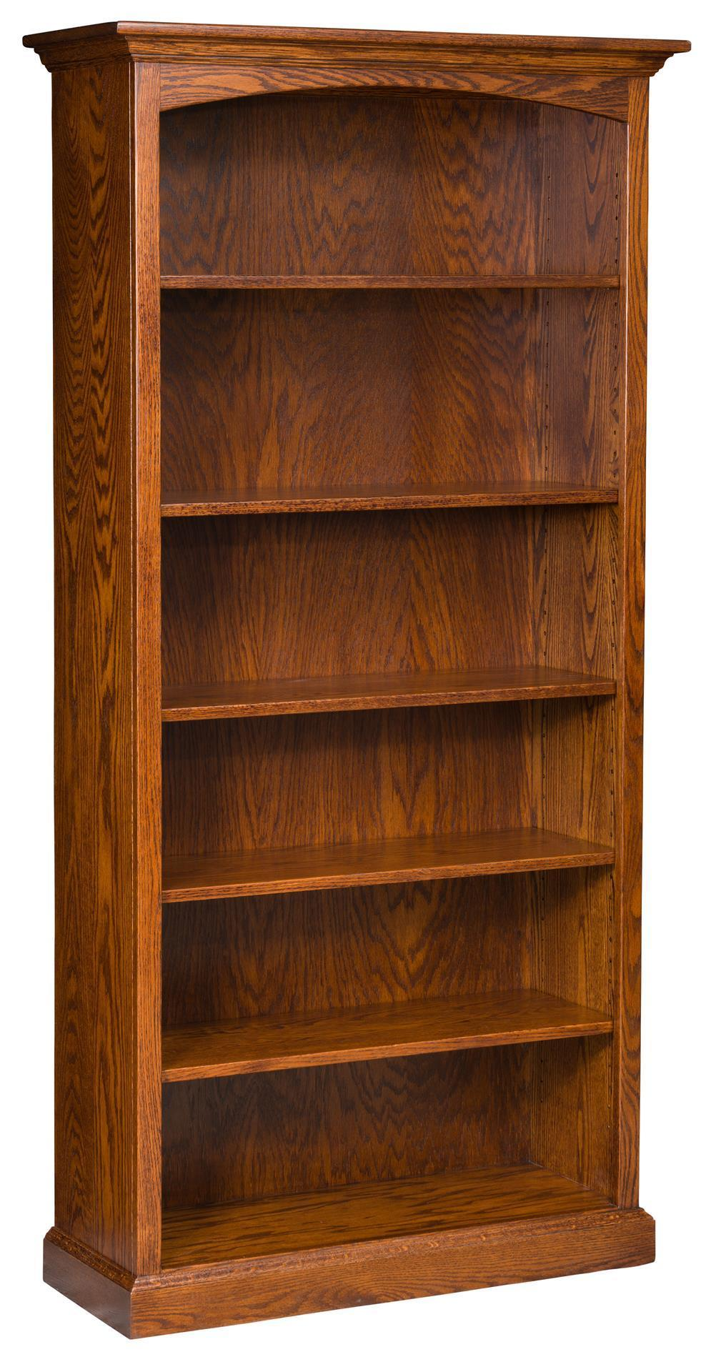 Traditional Solid Wood Bookcase From Dutchcrafters Amish