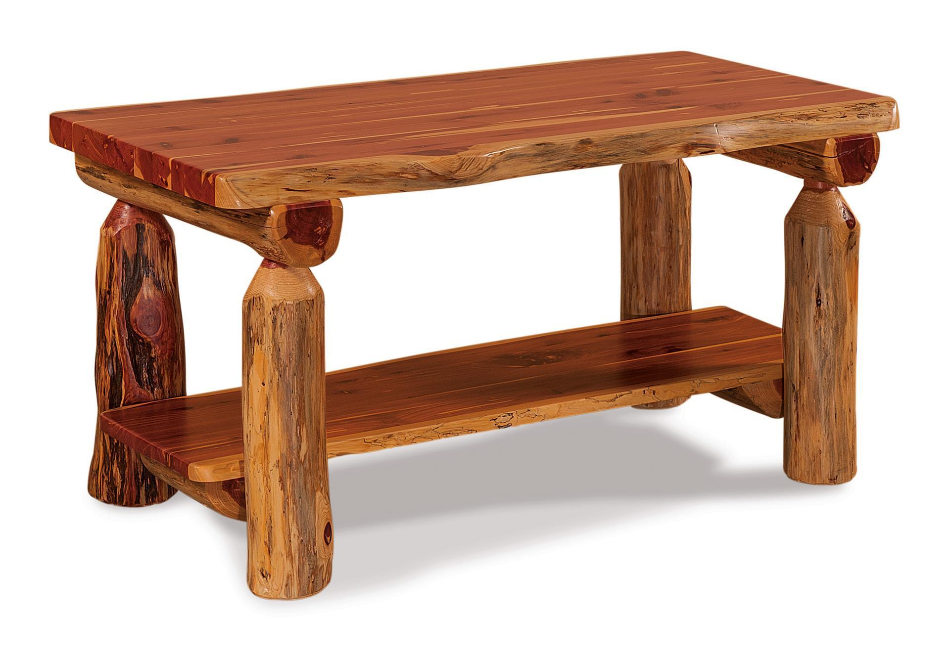 - Rustic Log Coffee Table From Dutchcrafters Amish Furniture