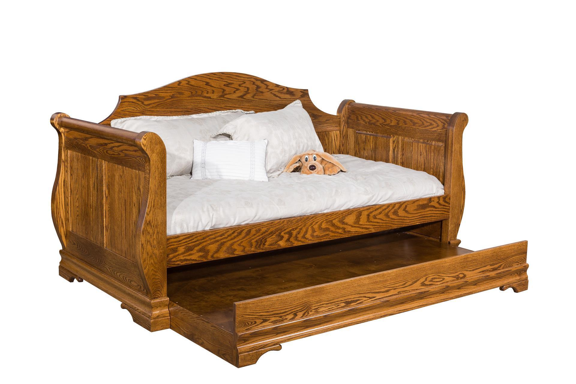 Sleigh Daybed From Dutchcrafters Amish Furniture