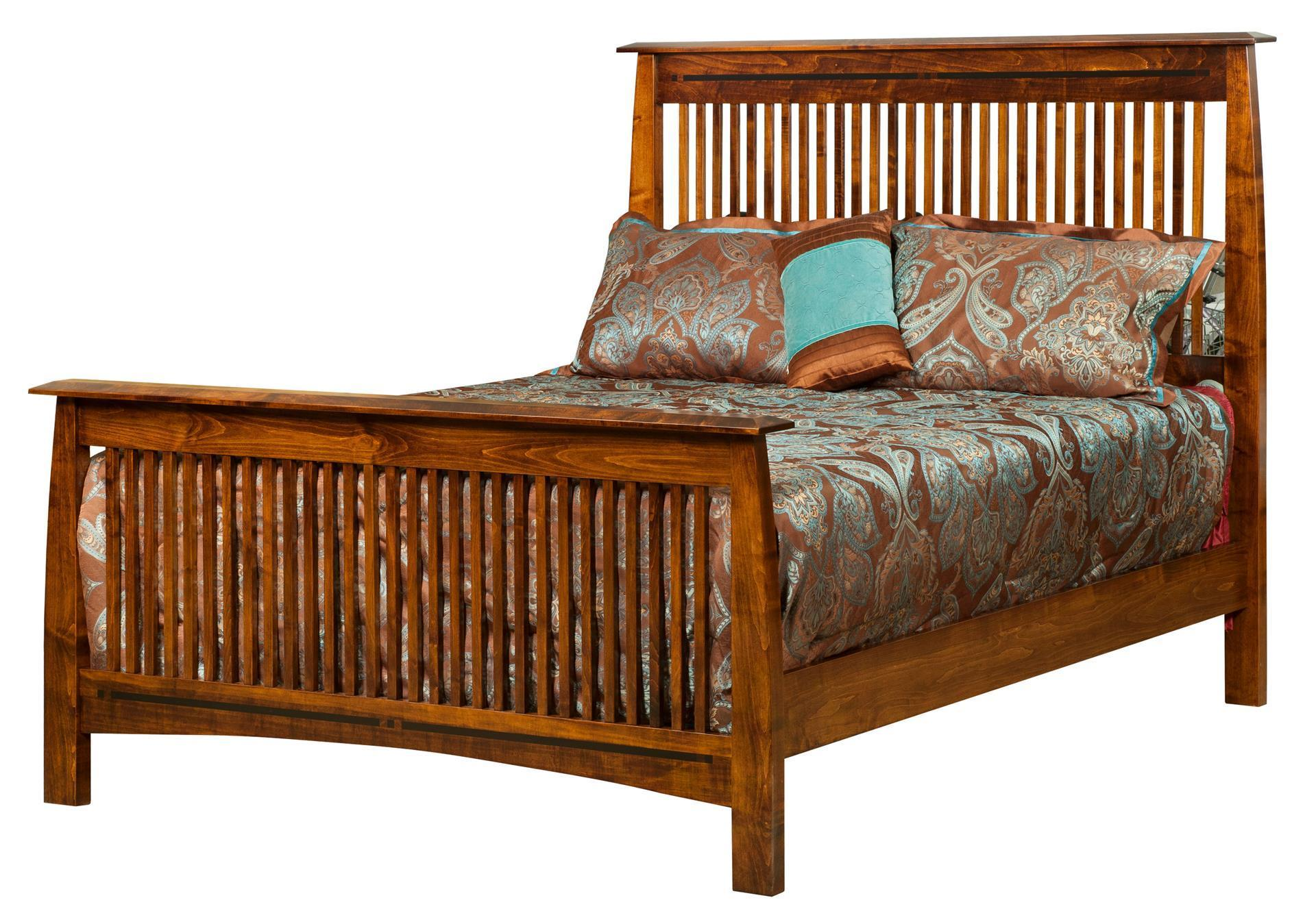 Amish Boulder Creek Mission Bed From Dutchcrafters Amish