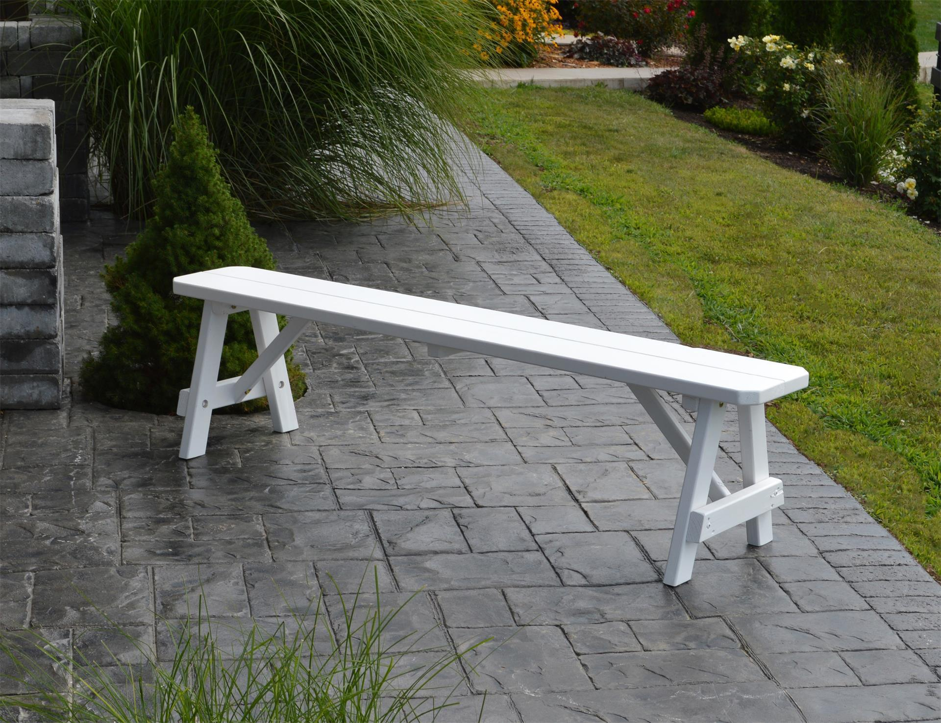 Pine Traditional Backless Bench From Dutchcrafters Amish