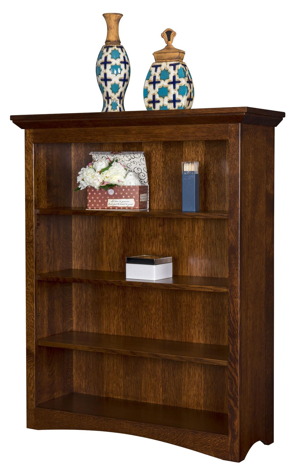 Maysville Solid Wood Bookcase from DutchCrafters Amish ...